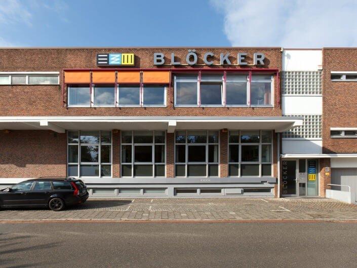 Blöcker Lager Logistik Büro Firmengbäude