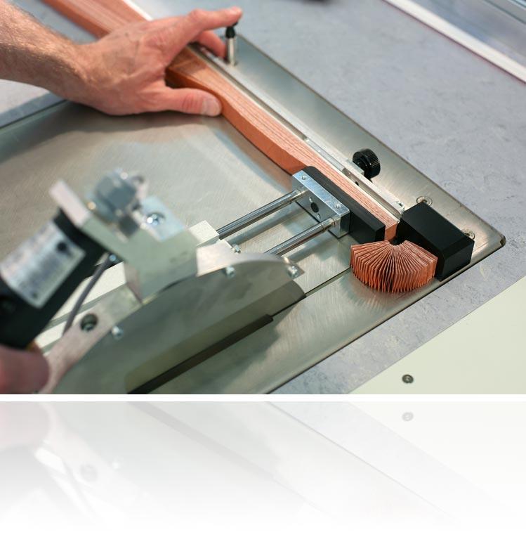 Blöcker Cosiflor Plissee Wabenplissee Werkzeug Stoffscheiden