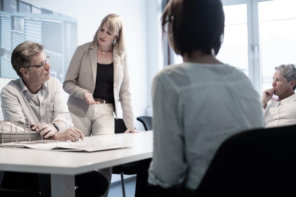 Ideen Besprechung Mitarbeiter Meeting