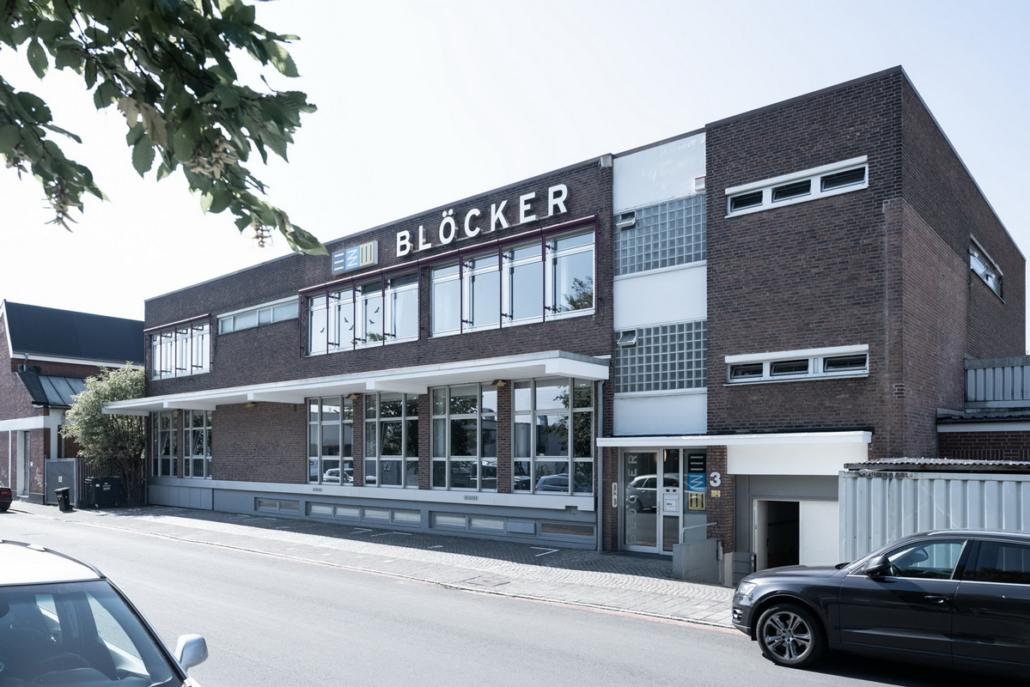 Unternehmen Firma Blöcker Plissee Duoflor Triflor Gebäude Büro Norderneystraße